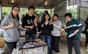 2019年4月14日 社内イベント 清水公園でBBQ(BBQ&マス釣り)